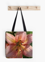 Lily Flower Bloom tote bag