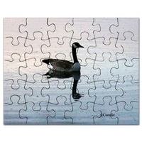goose in the early morning light puzzle