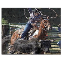 rodeo roping puzzle