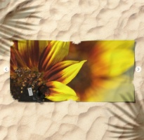 Colors of the Sunflowers Beach Towel 2